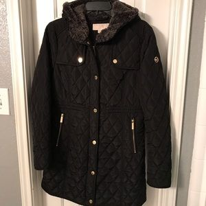 Michael Kors Women's Lined hooded jacket Sz Med